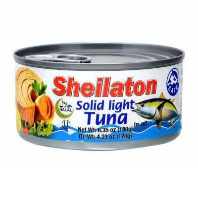 SHEILATON TUNA FISH IN VEG OIL 24/180 GR