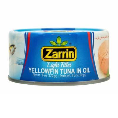 ZARRIN YELLOWFIN TUNA IN OIL 24/6 OZ