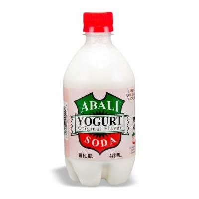 ABALI YOGURT SODA REG 24/16 OZ