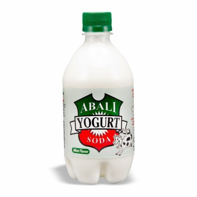 ABALI YOGURT SODA MINT 24/16 OZ
