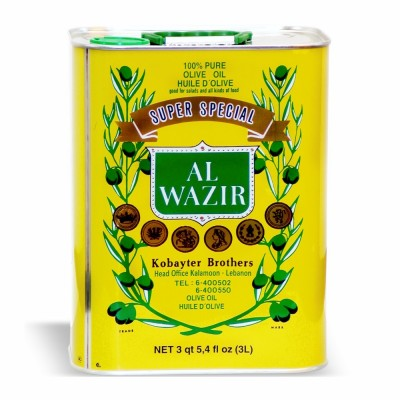 AL WAZIR PURE OLIVE OIL 4/3 LT