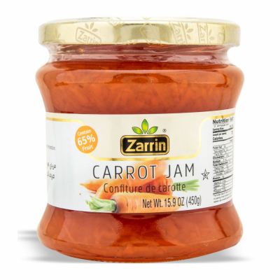 ZARRIN CARROT JAM 6/450 GR