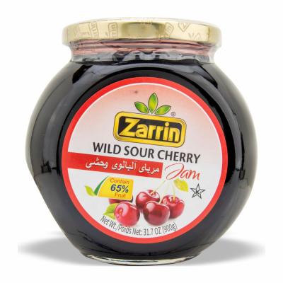 ZARRIN WILD SOUR CHERRY JAM 6/900 GR