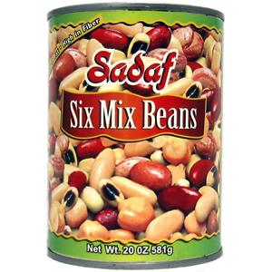 Sadaf Six Mix Beans 20 oz.