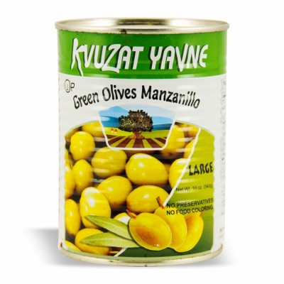 YAVNE GR.OLIVES MANZANILO 12/19 OZ