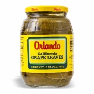 ORLANDO GRAPE LEAVES 12/16 OZ
