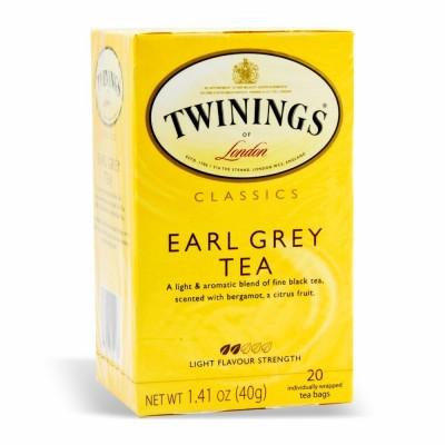 TWININGS EARL GRAY BAGS 6/20 PK