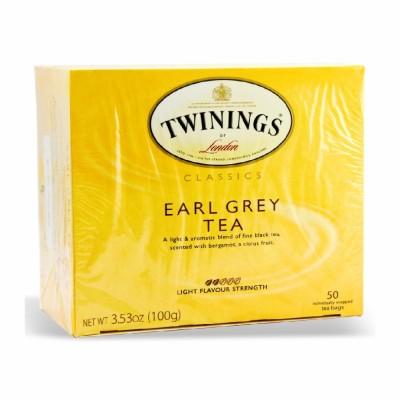 TWININGS EARL GRAY BAGS 6/50 PK