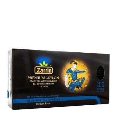 ZARRIN EARL GRAY TEA BAGS 12/100 PC